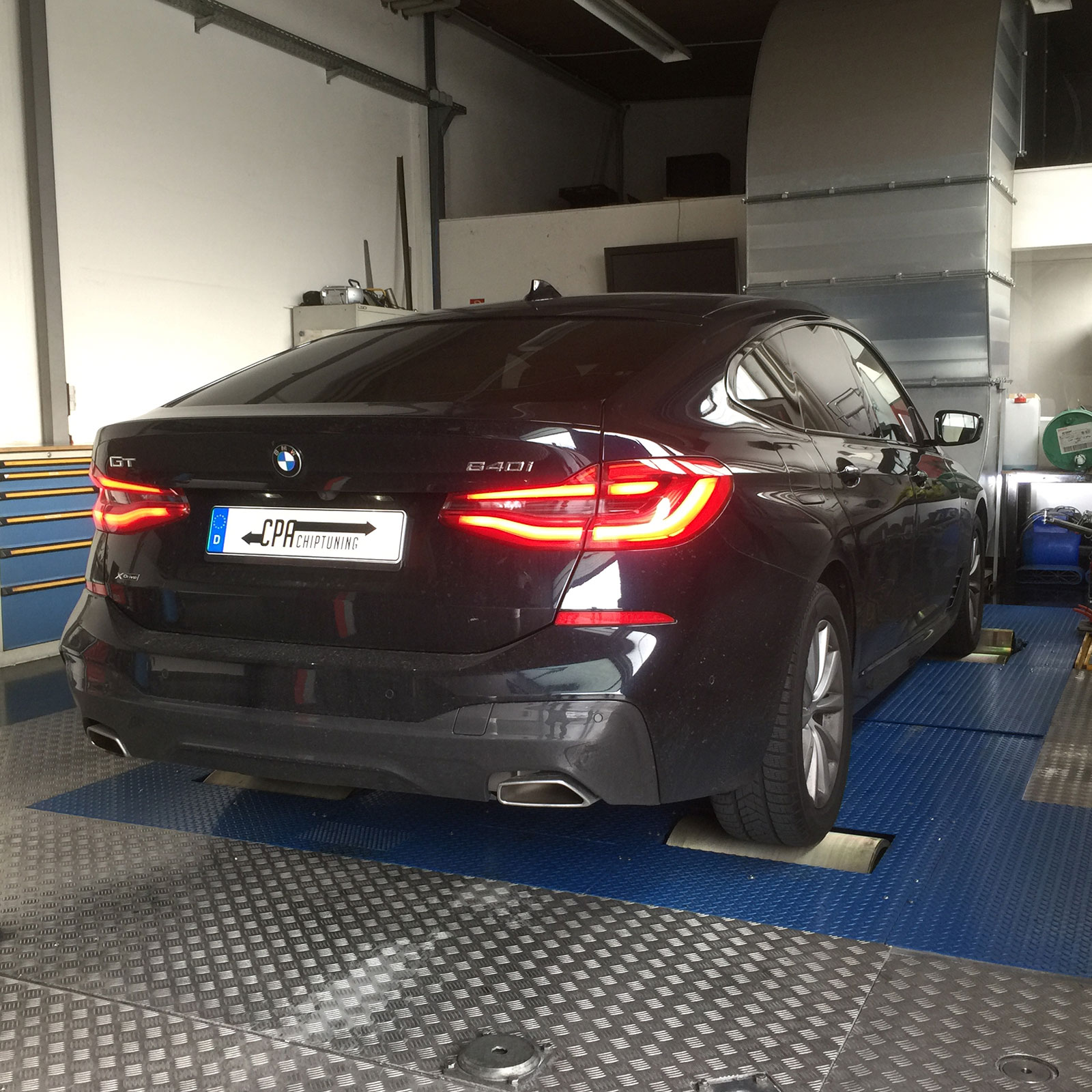 Chiptuning BMW: developed on the dyno