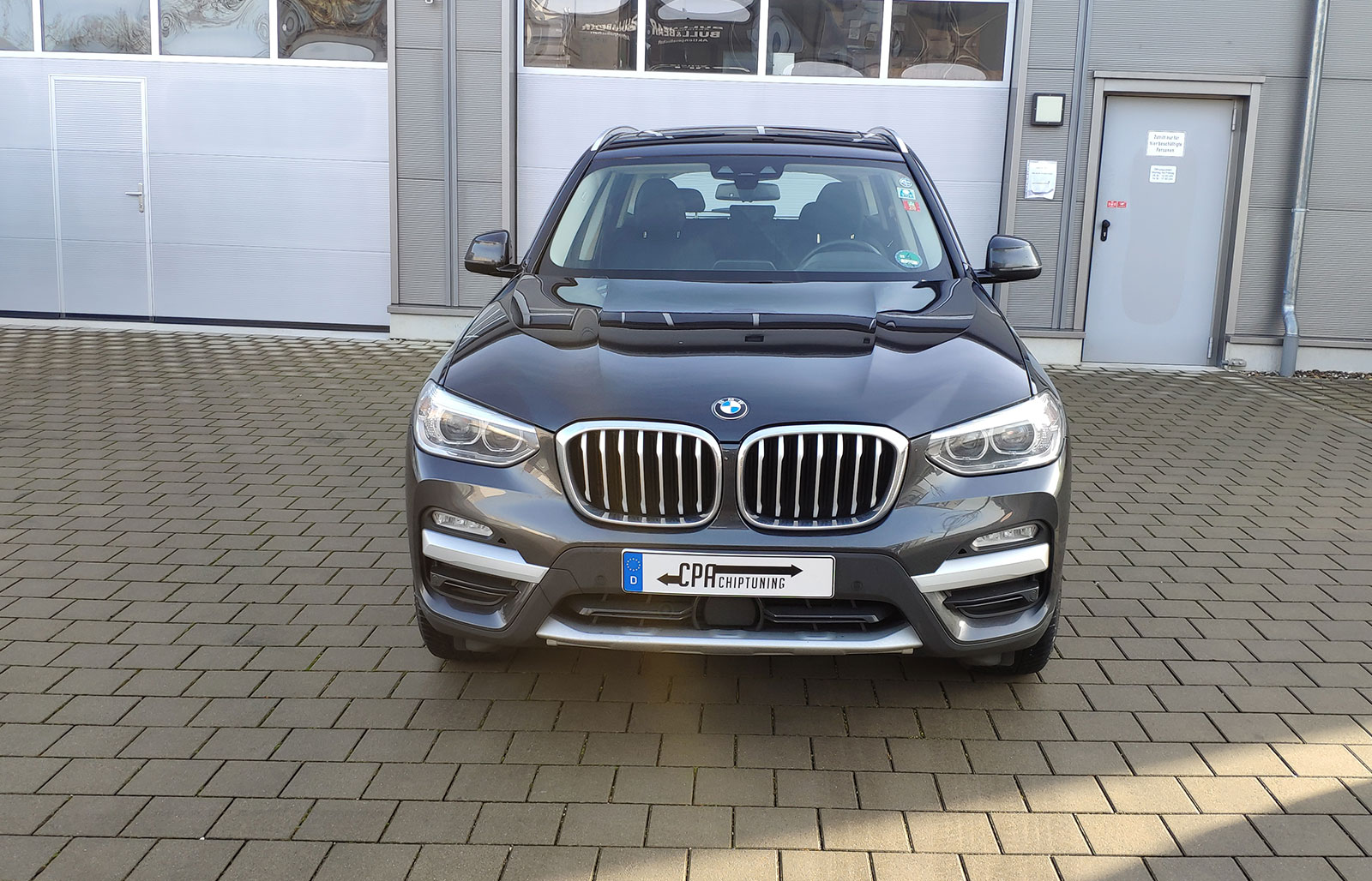 The BMW X3 (G01) xDrive20d in test