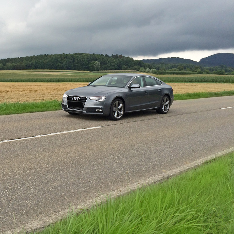 The Audi A5 1.8 TFSI with reasonable tuning by CPA Chiptuning