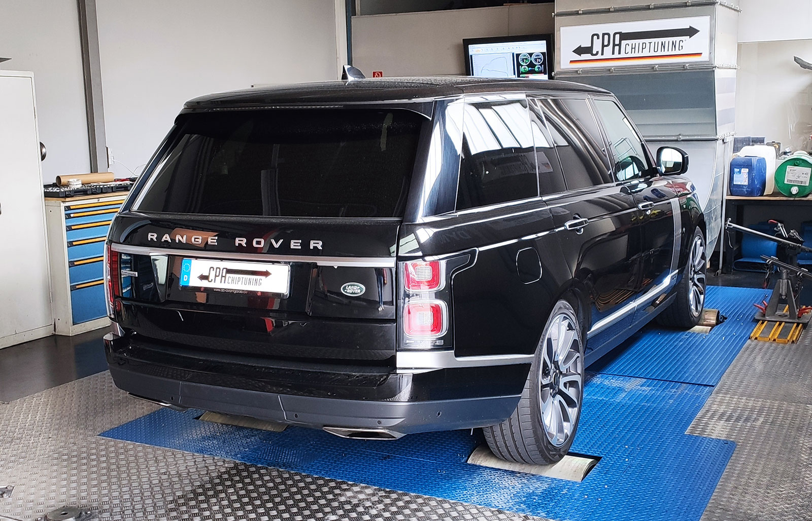 Land Rover Range Rover V8 Supercharged Chiptuning