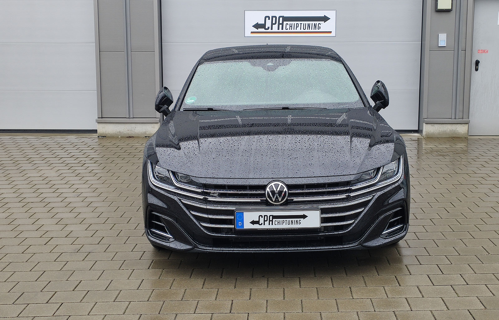 The new lifestyle truck VW Arteon Shooting Brake being tested at CPA Performance