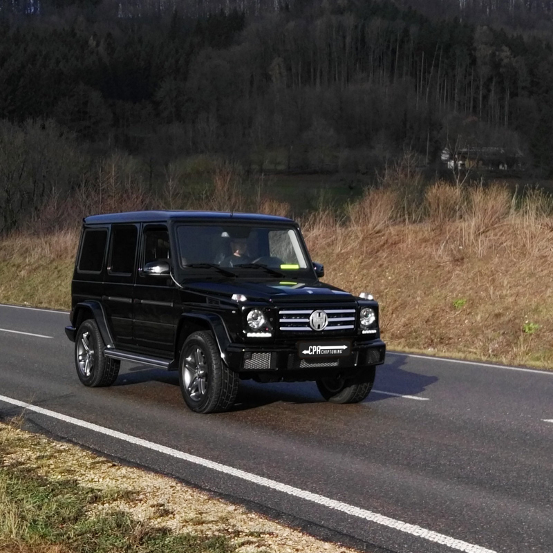 In Test: Mercedes G350d read more