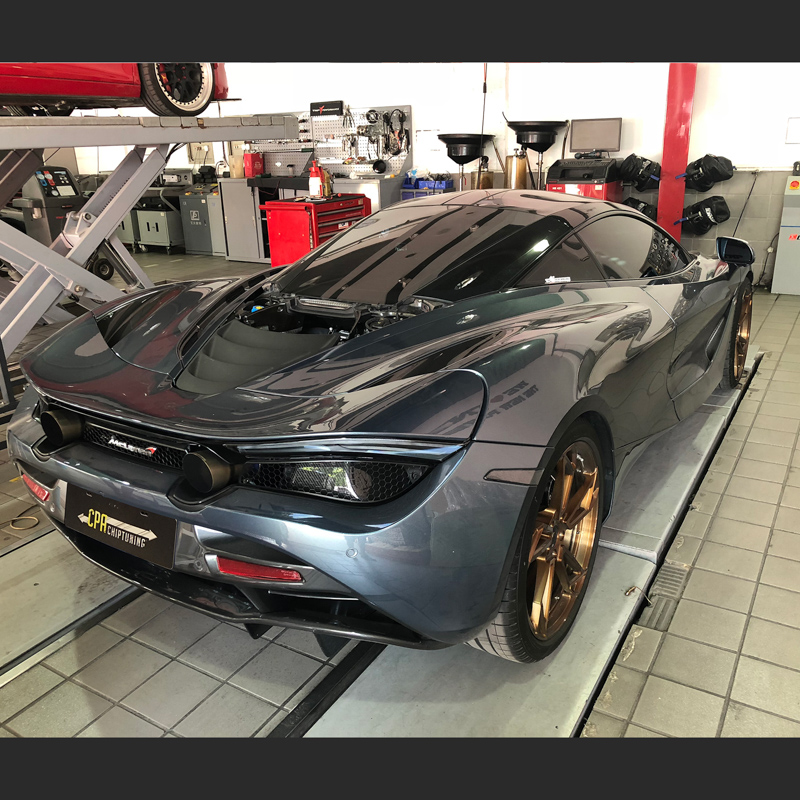Faster than the competition - the McLaren 720S read more