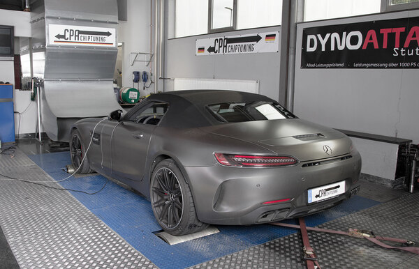 The new Mercedes E400 (W212) at the dyno read more